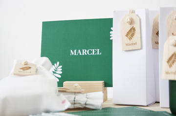 Geboorteconcept Marcel